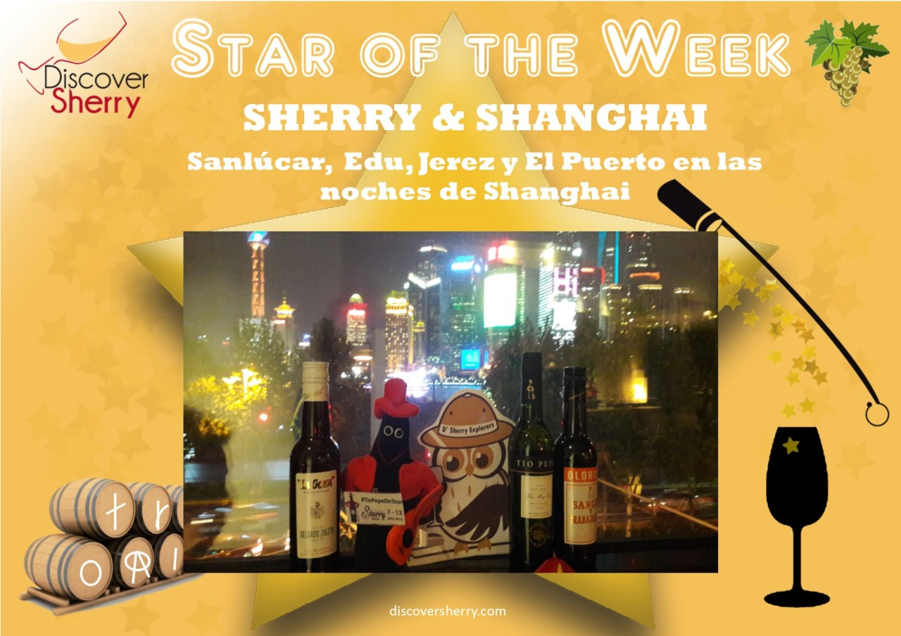 Star of the Week: ¡Edu y sus amigos en Shanghai! / Edu and his friends in Shanghai!