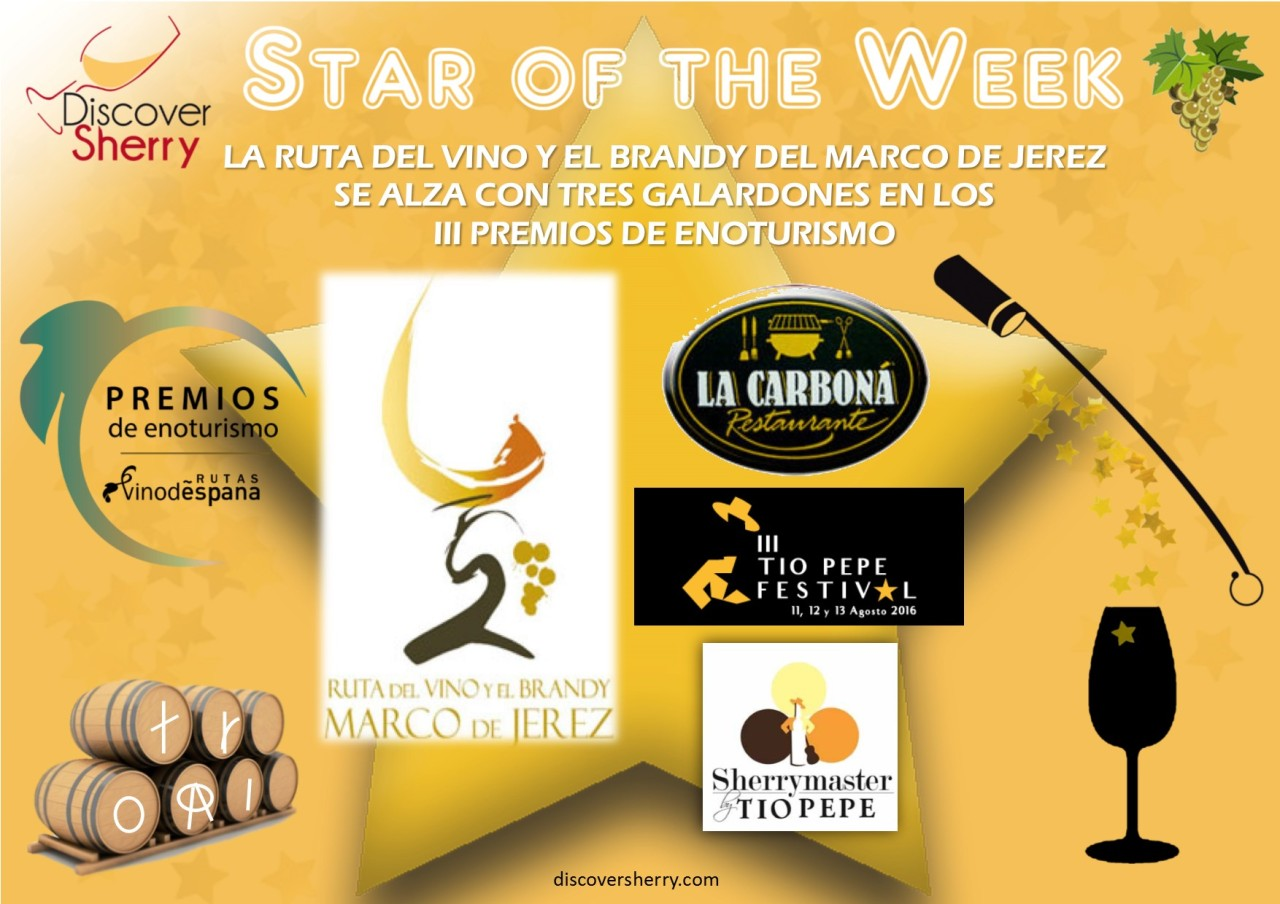 Star of the Week: Ruta del Vino y Brandy del Marco de Jerez