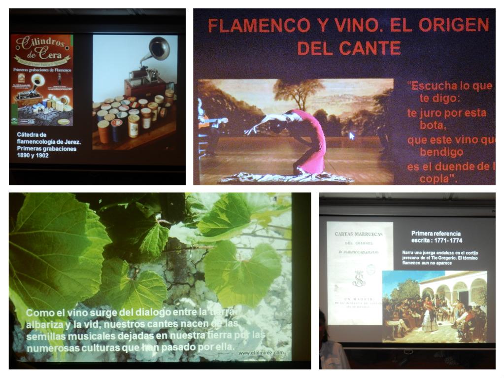 """Reunión de los Sherry Explorers: """"El origen del Flamenco"""", por Ángela Gallego, genial/Sherry Explorers meeting:  """"The Origin of Flamenco,"""" by Ángela Gallego,excellent"""