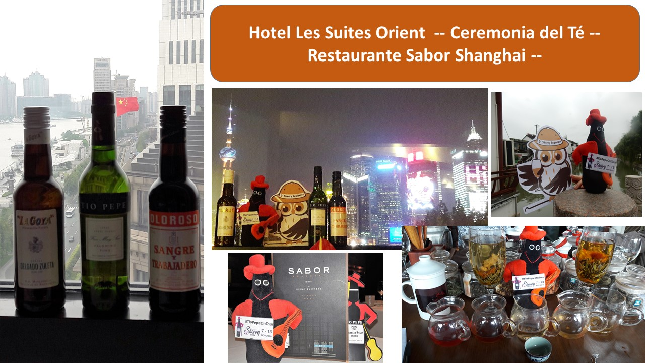 Sherry and Shanghai: Tío Pepe y #TioPepeOnTour, González Byass,Jerez
