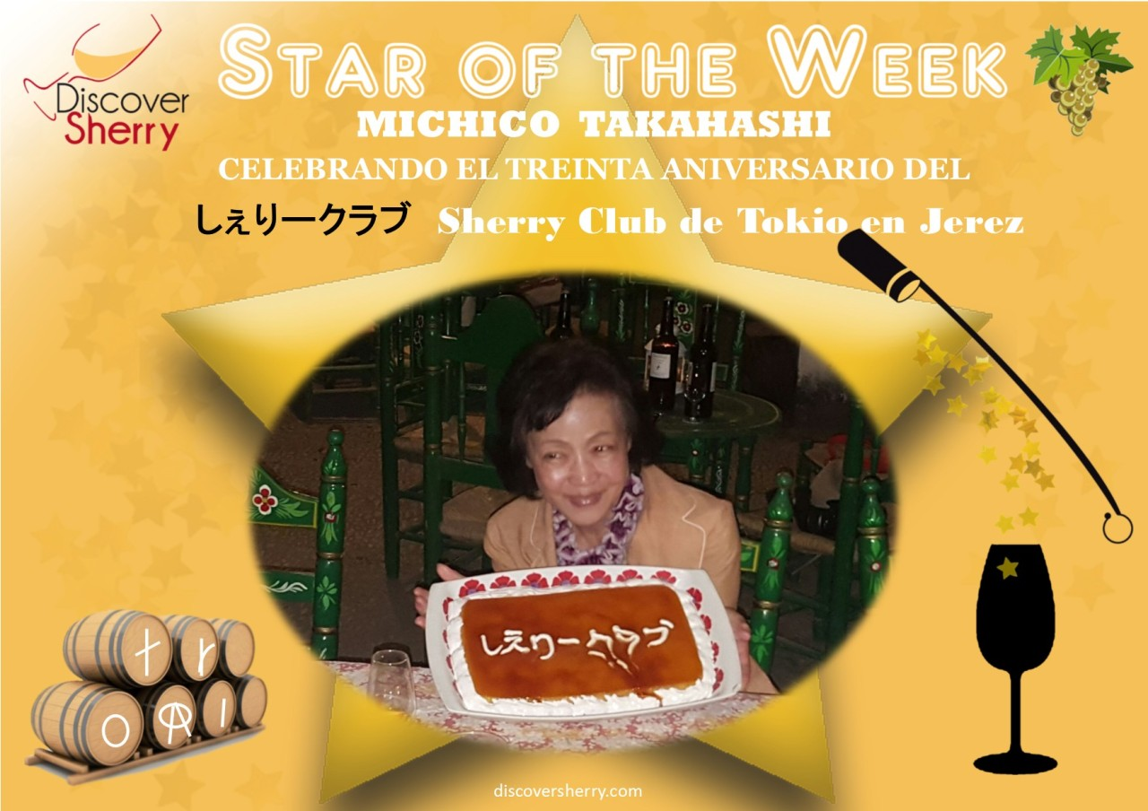Star of the Week: MichikoTakahashi, Tokyo Sherry Club