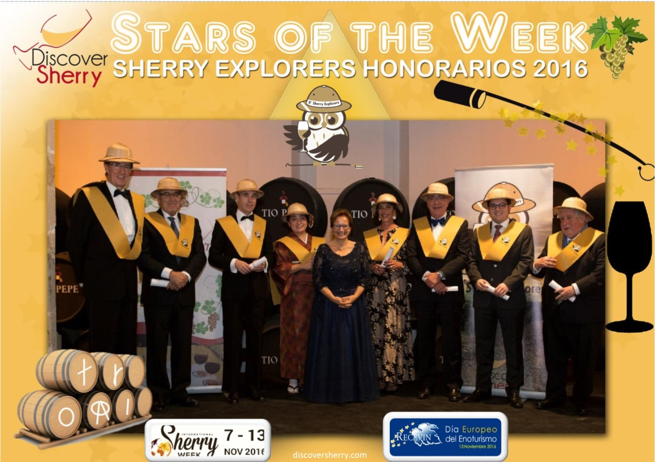 Stars of the Week:  Sherry Explorers Honorarios 2016