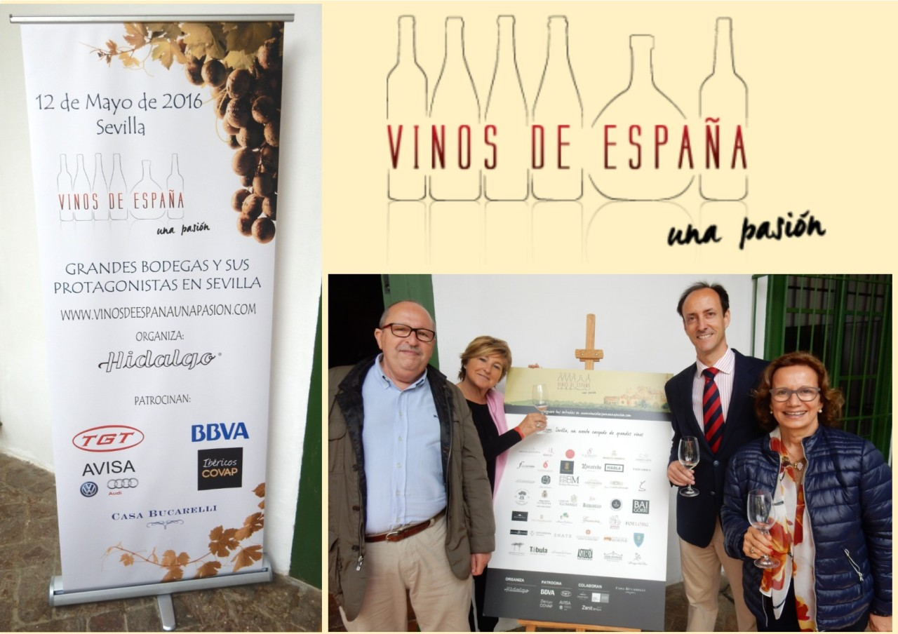 Buenos recuerdos: VINOS de ESPAÑA, Una Pasión./ Good memories: WINES FROM SPAIN, A Passion
