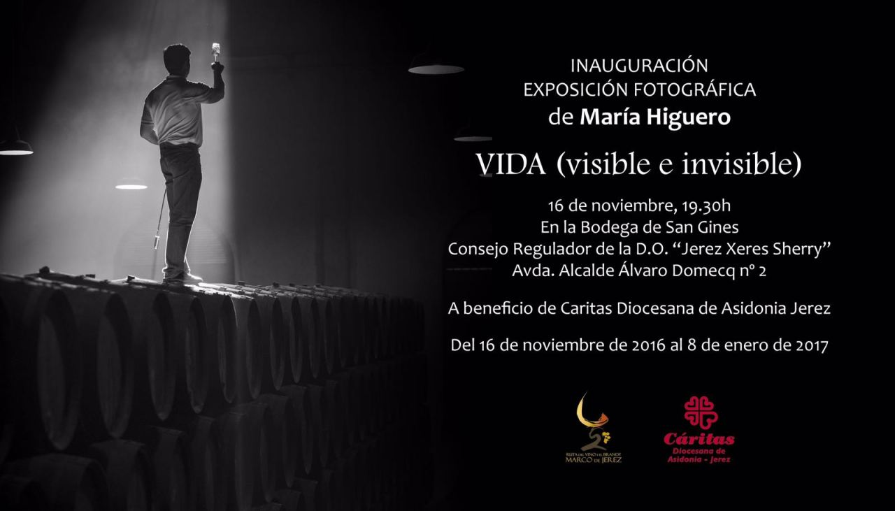 Discover Sherry recommends: Exposición fotográfica: VIDA (visible e invisible)de MaríaHiguero