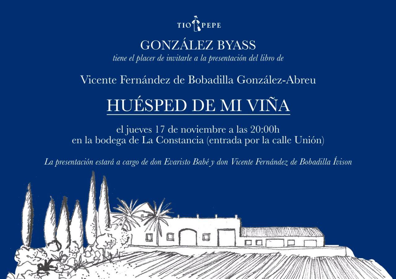 Presentación del libro Huésped de Mi Viña / Presentation of the book ´Huesped de MiViña´
