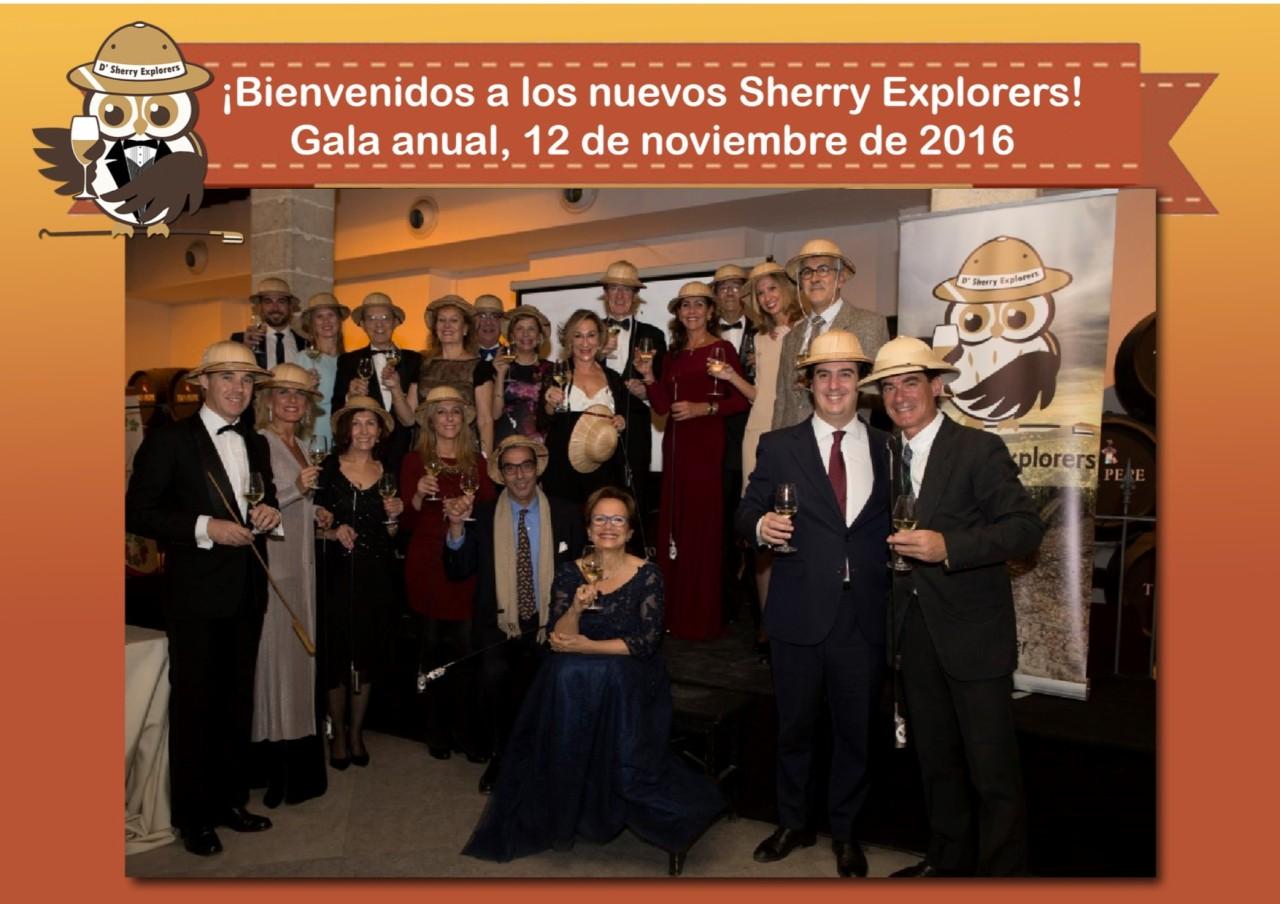 Bienvenidos a los nuevos Sherry Explorers, 12 de noviembre 2016 / Welcome to the new Sherry Exploreres, November 12,2016