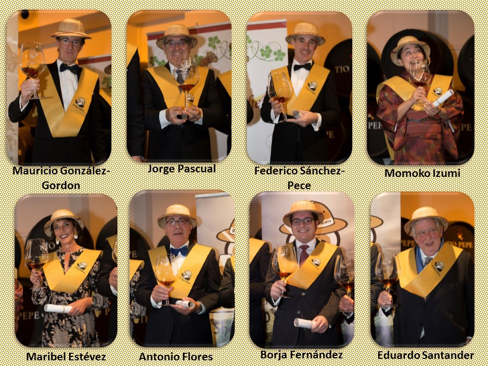 SHERRY EXPLORERS HONORARIOS 2016 / HONORARY SHERRY EXPLORERS 2016