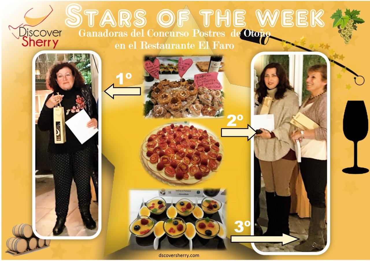 Stars of the Week: Ganadoras del Concurso de Postres en el Restaurante ElFaro