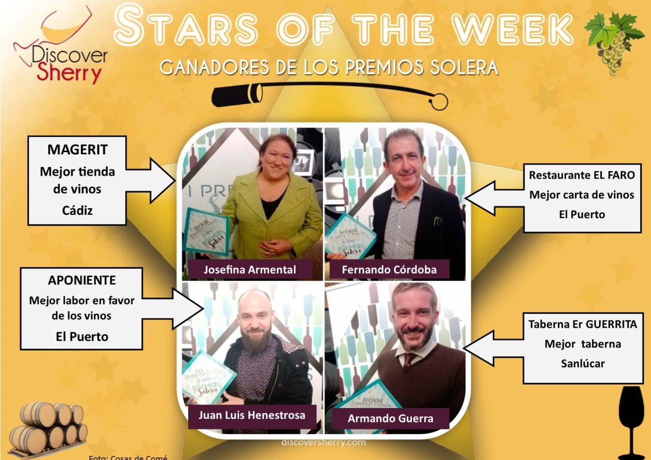 STARS of the WEEK: Ganadores de los Premios Solera / Winners of the Solera Awards