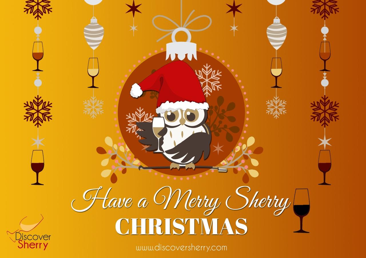 ¡Feliz Navidad con Vino de Jerez! / Have a Merry SherryChristmas!