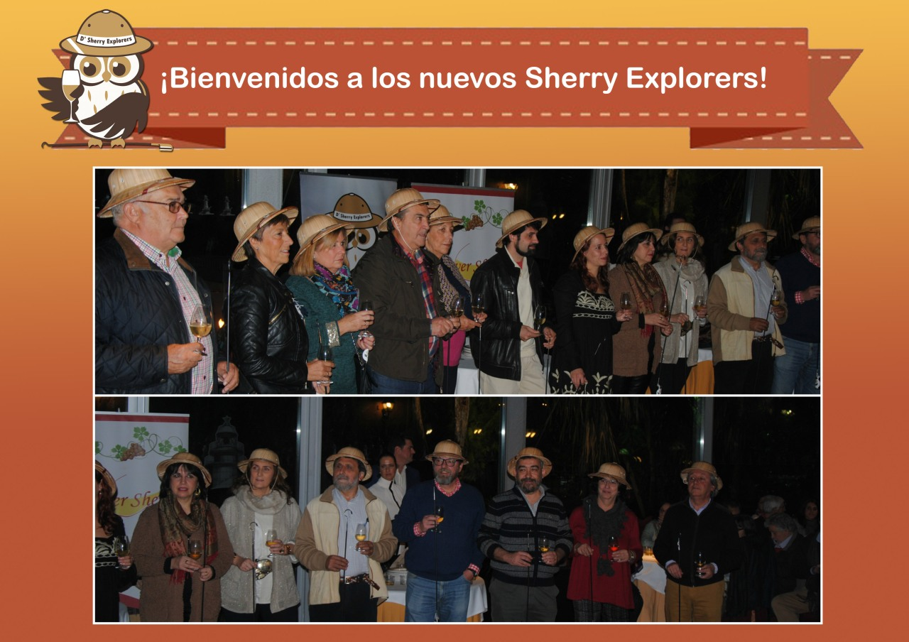 ¡Bienvenidos nuevos Sherry Explorers!  / Welcome new SherryExplorers!