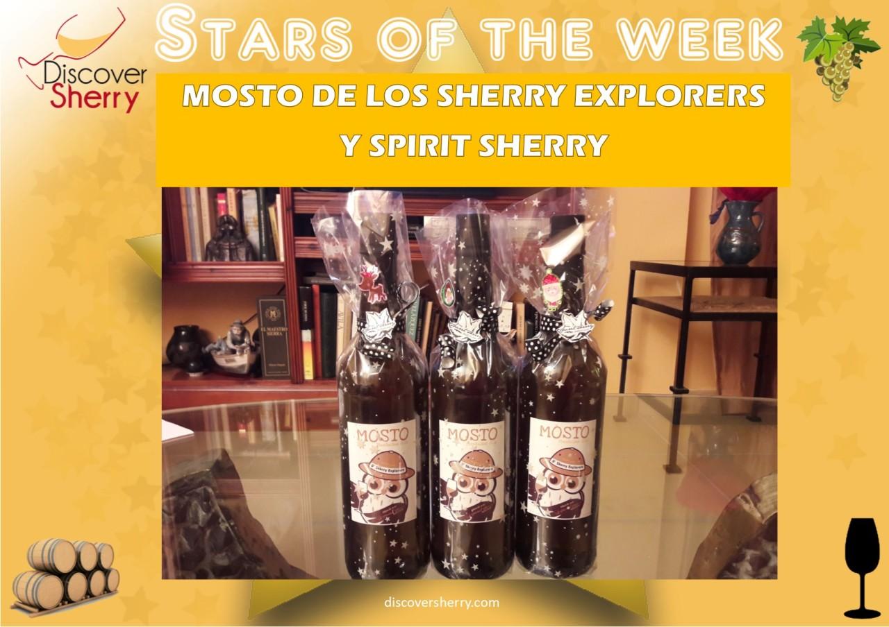 STAR OF THE WEEK: MOSTO de los Sherry Explorers y SpiritSherry