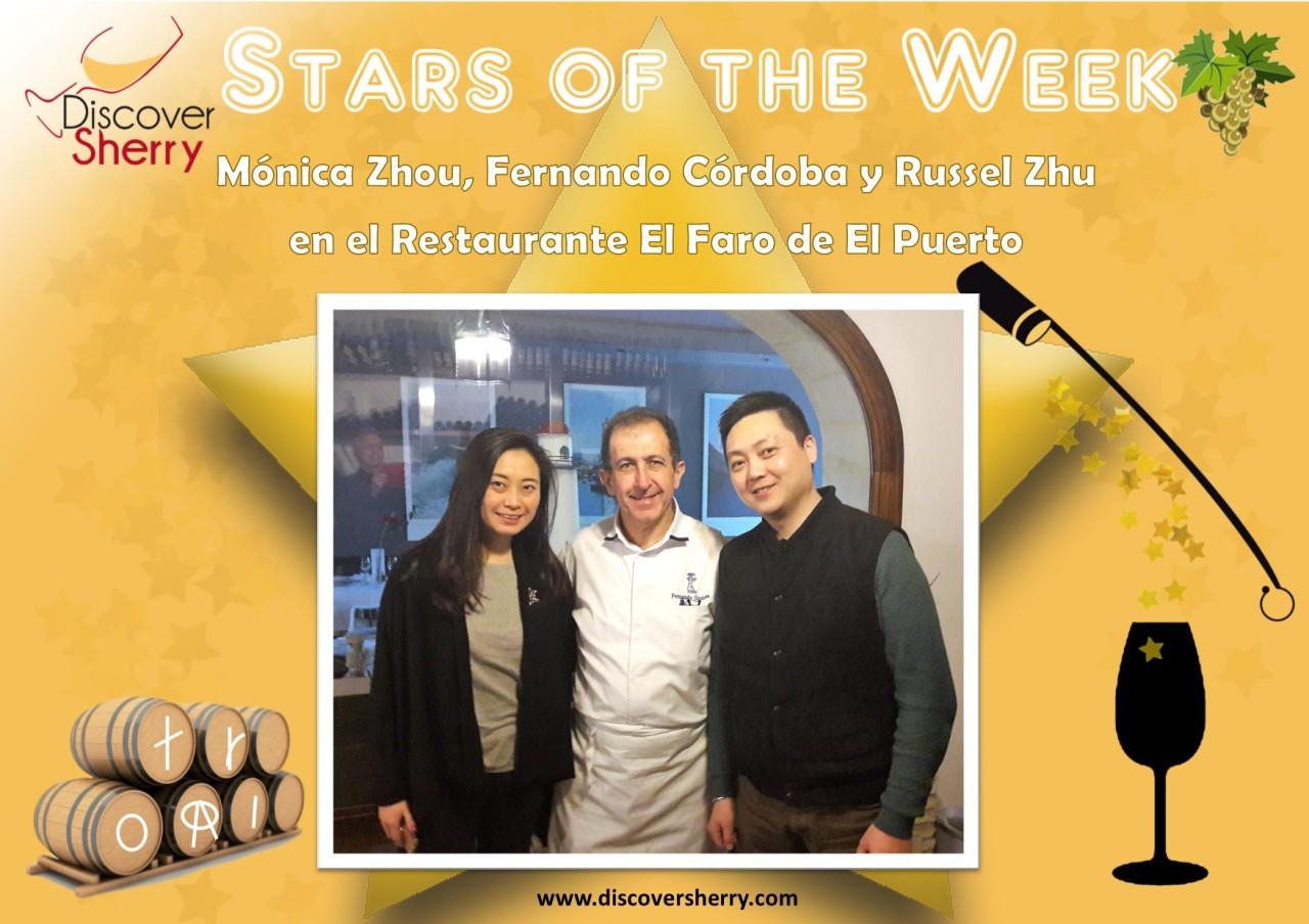 Stars of the Week: Monica Zhou y Russel Zhu en el Restaurante ElFaro