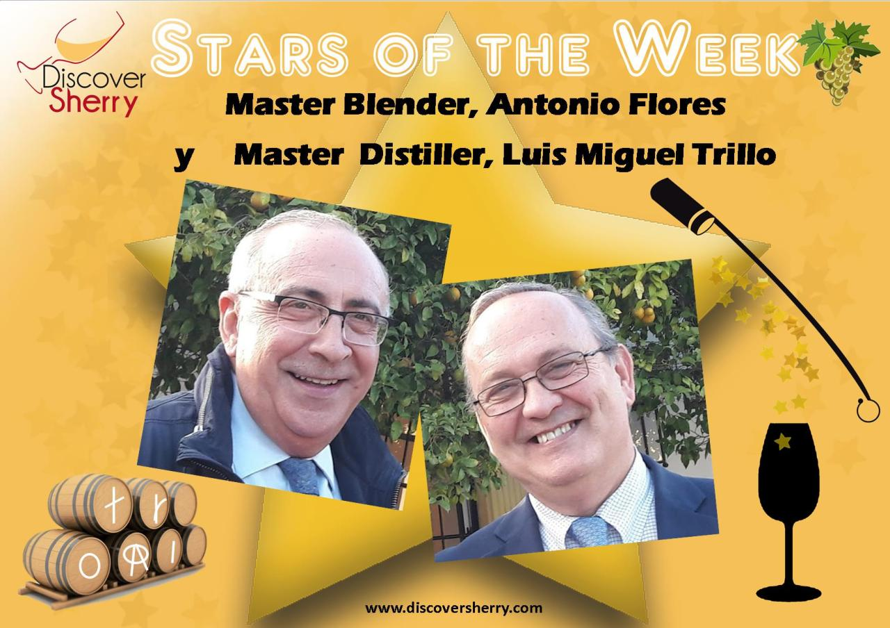 STARS of the WEEK: González Byass´ Master Blender and Master Distiller