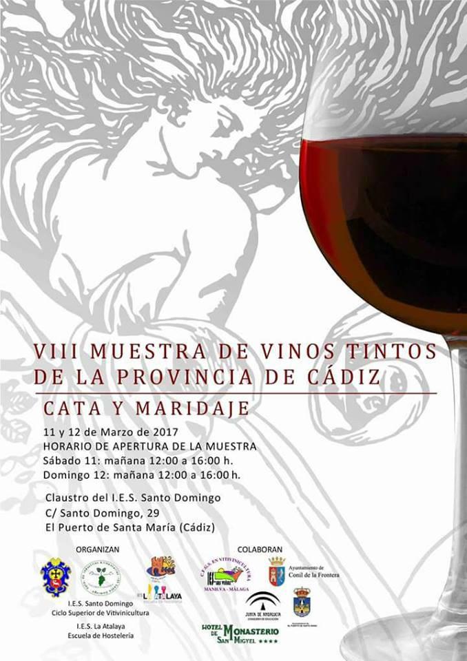 Discover Sherry recommends: VIII Muestra de Vinos Tintos de la Provincia deCádiz