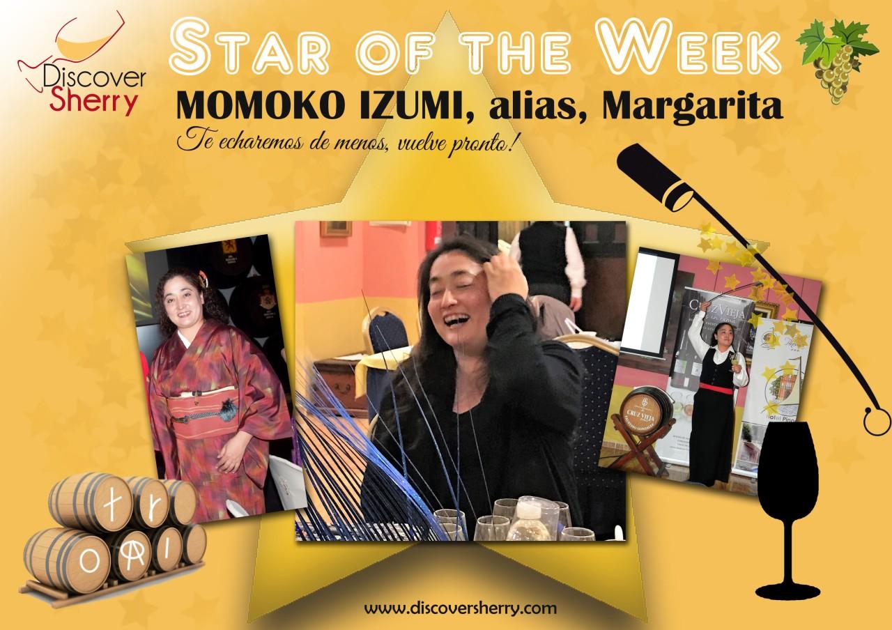 Star of the Week: MOMOKO IZUMI (alias,Margarita)