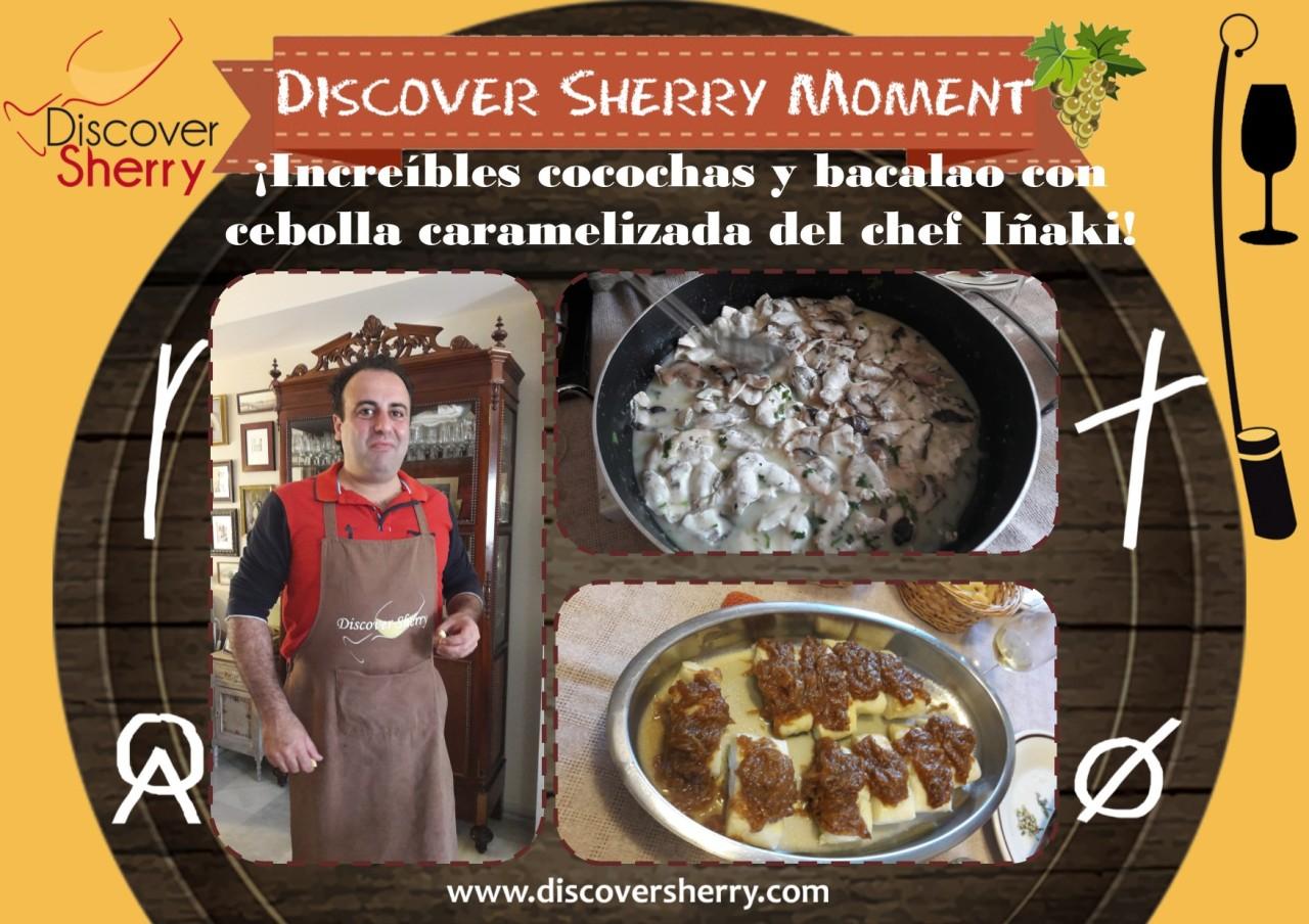 Discover Sherry Moment: ChefIñaki