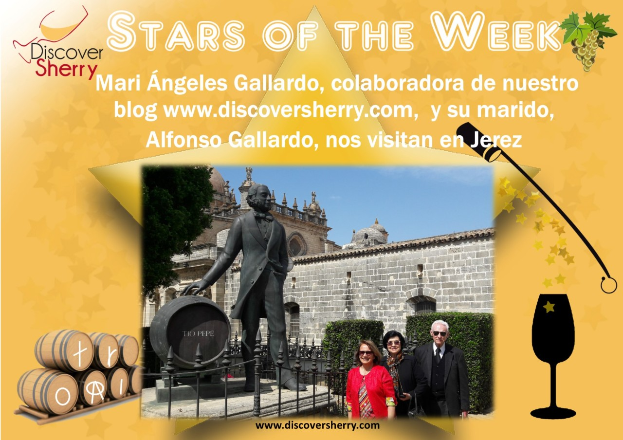 STAR of the WEEK: Mari Ángeles Gallardo, colaboradora de www.discoversherry.com