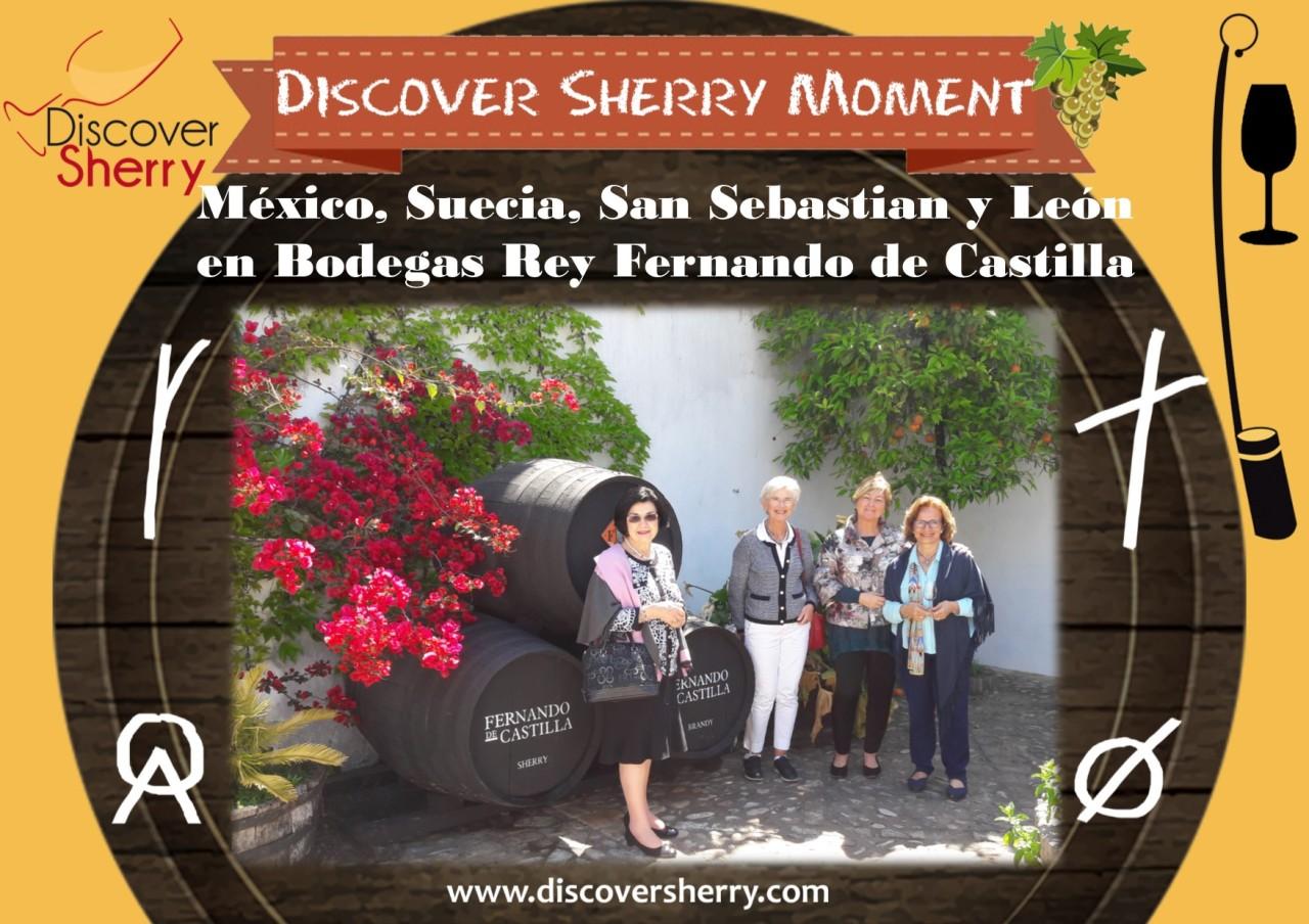 Discover Sherry Moment: Bodegas Rey Fernando deCastilla