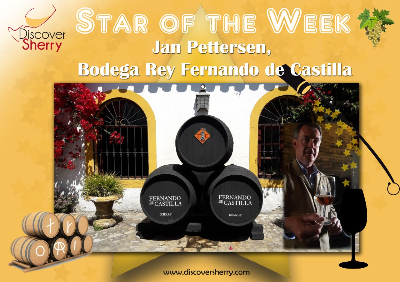 STAR of the WEEK: Jan Pettersen, Bodegas Rey Fernando de Castilla