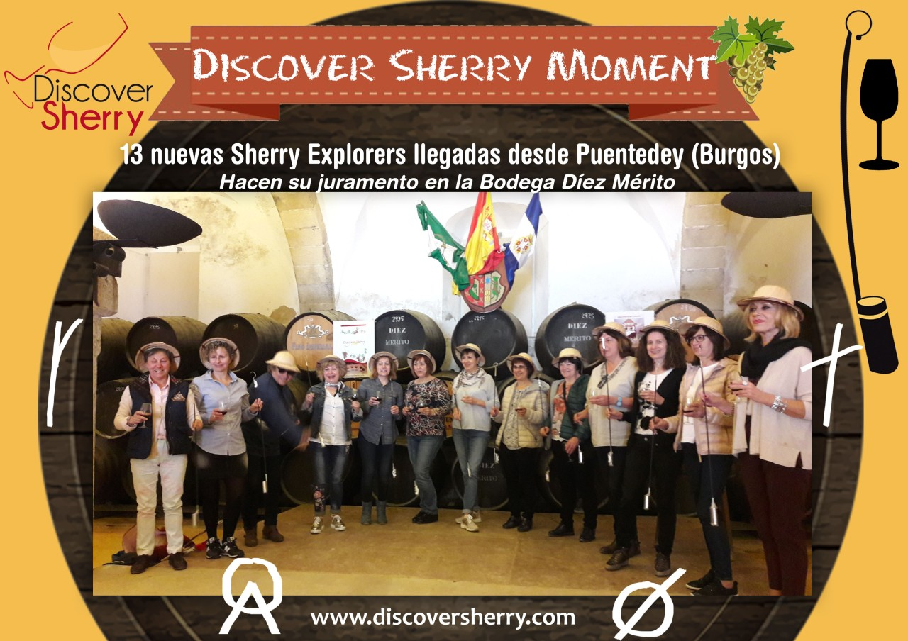 Discover Sherry Moment: Swearing in of the new Sherry Explorers / Juramento de las nuevas Sherry Explorers