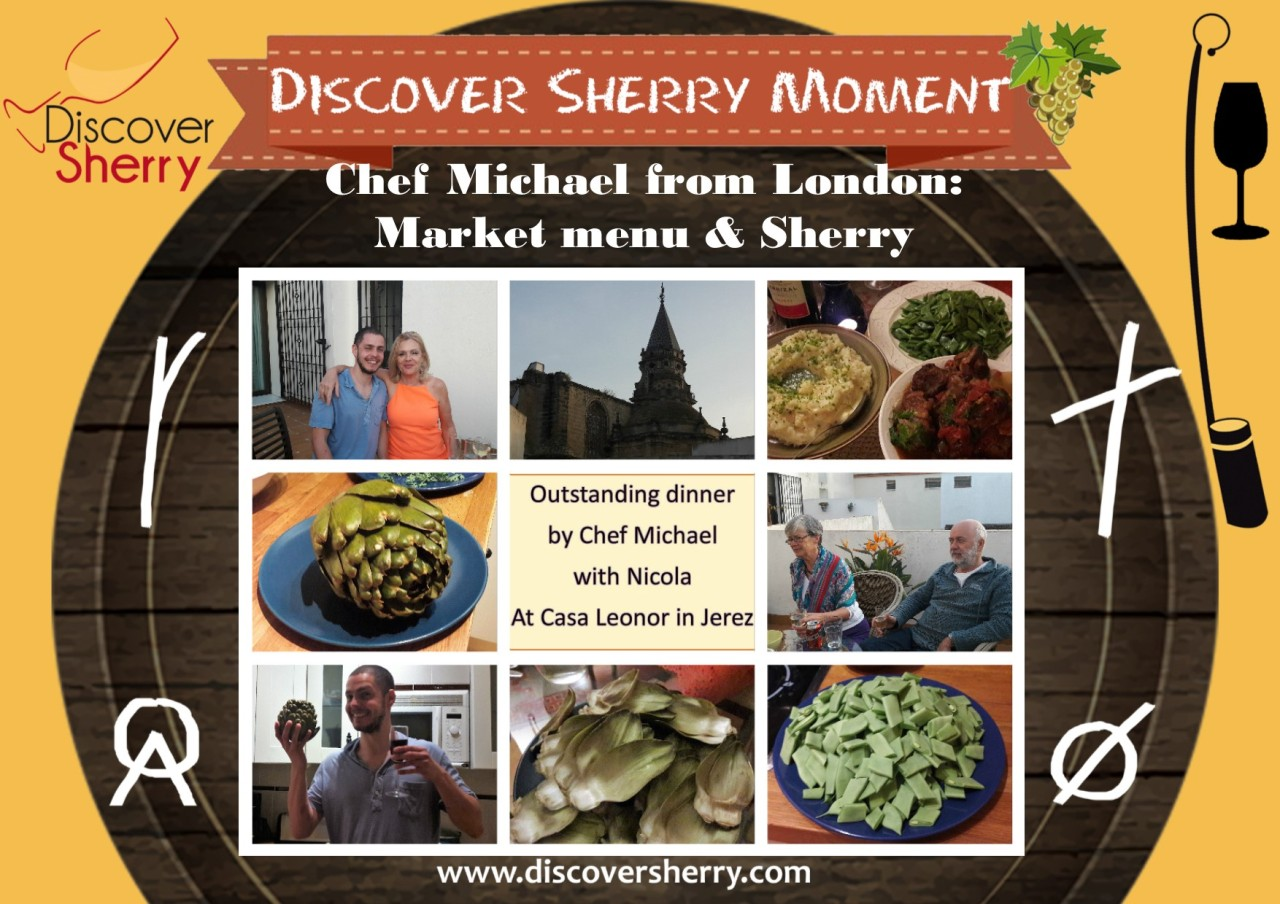 Discover Sherry Moment: Disfrutando de la cocina del Chef Michael / Enjoying Chef Michael´s cuisine