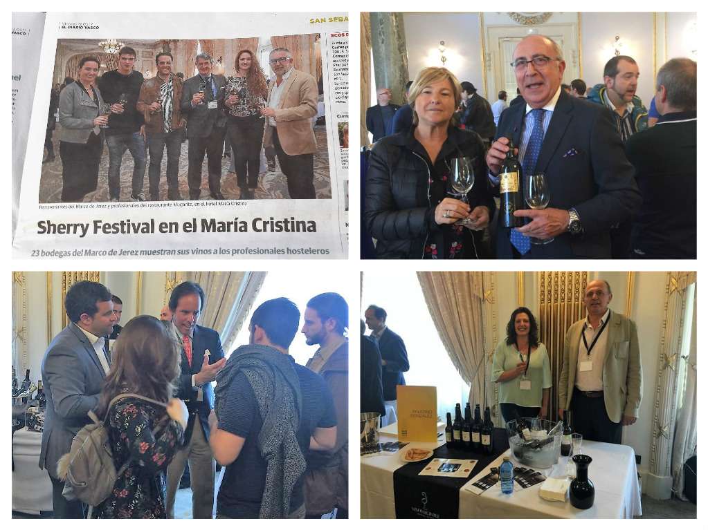 Discover Sherry en el Sherry Festival 2017 San Sebastián. 1ª Cata en restaurante Oriental Tsi Tao/Discover Sherry at the 2017 Sherry Festival in San Sebastian.  The first tasting was held at the Tsi Tao Oriental Restaurant.