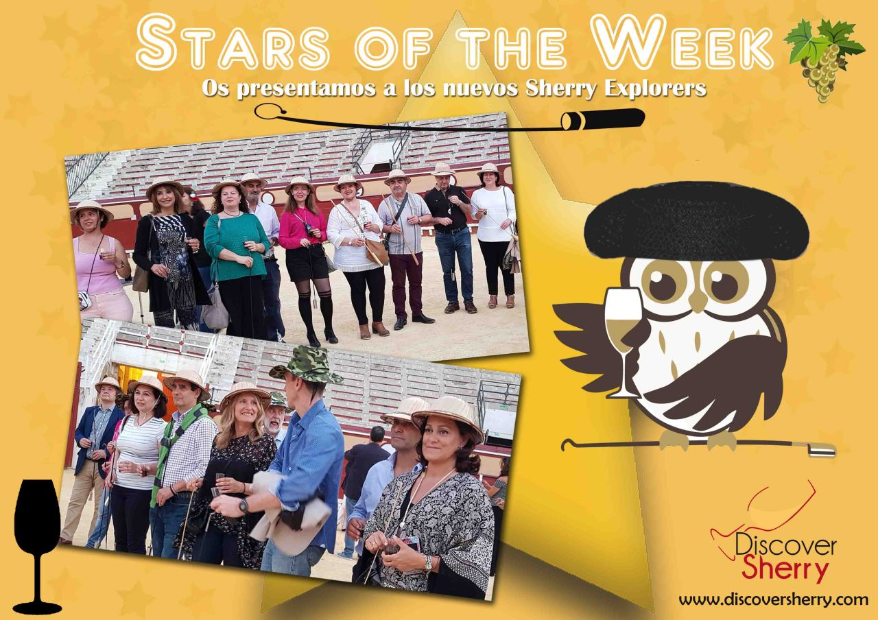 STARS of the WEEK: Nuevos Sherry Explorers en la Real Plaza de Toros de El Puerto de Santa María