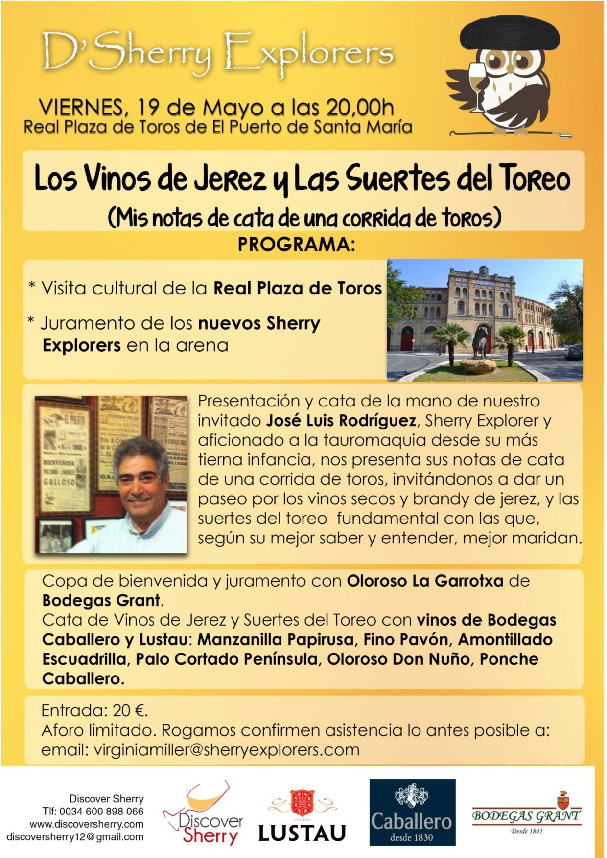 Los Vinos de Jerez y las Suertes delToreo.