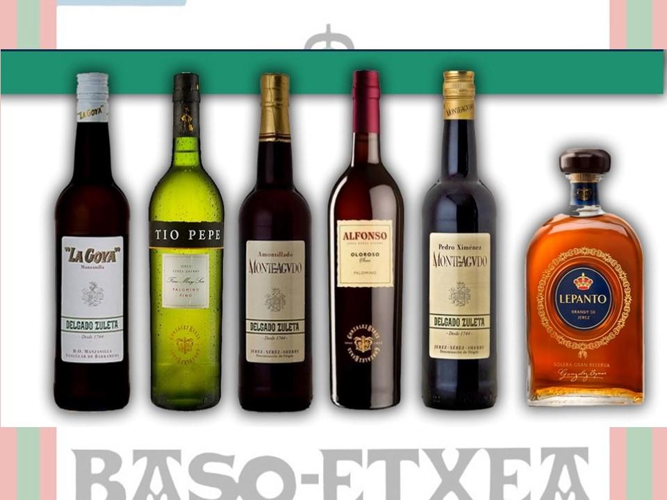 Los Pintxos Donostiarras se enamoran de los Vinos y Brandy de Jerez en Baso Etxea/The Donostia Pintxos fall in love with Sherry wines at BasoEtxea