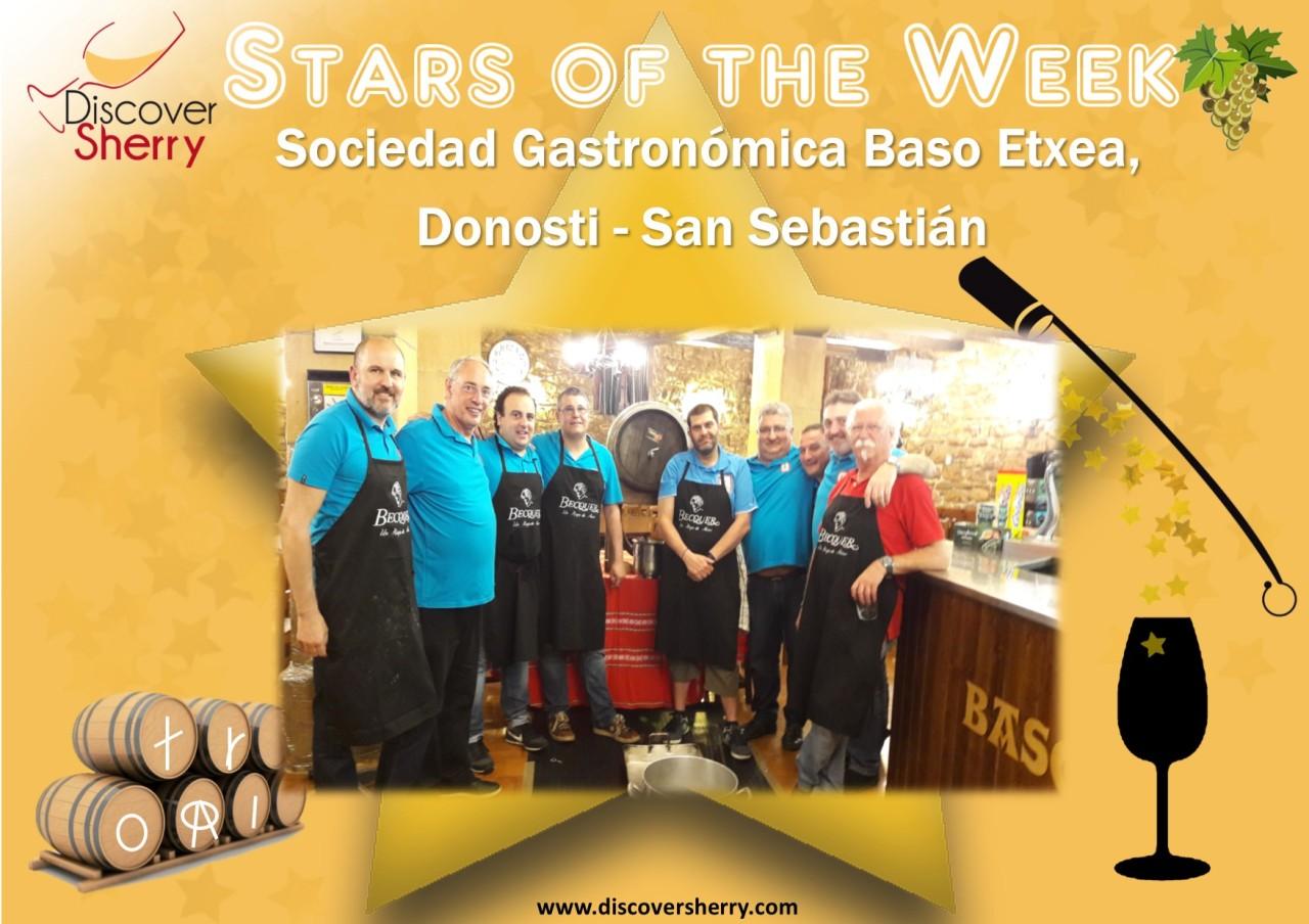 STARS of the WEEK: Sociedad Gastronómica BasoEtxea