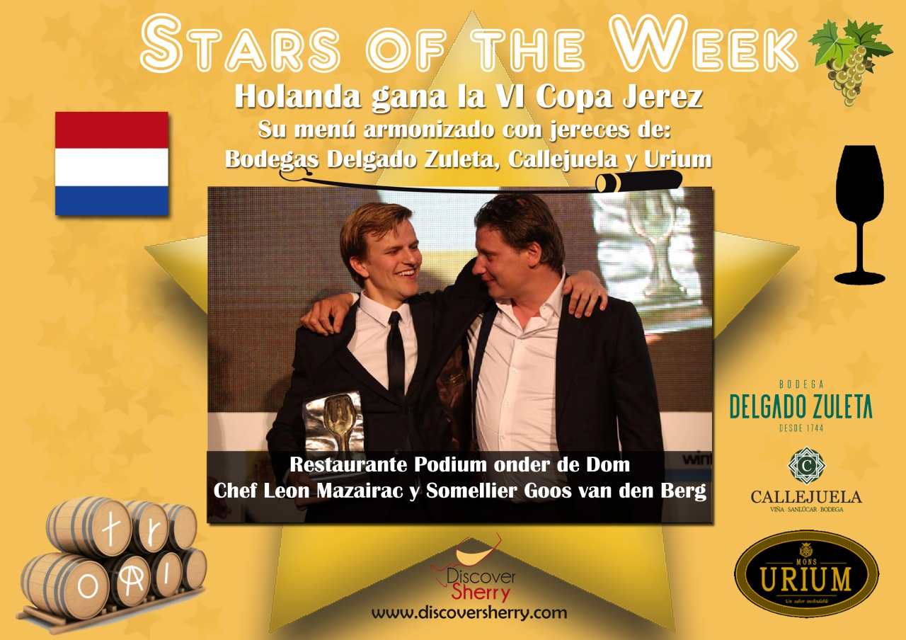 STARS of the WEEK: Holanda gana la VI COPA JEREZ. ¡Enhorabuena! The Netherlands win the 6th COPA JEREZ.  Congratulations!