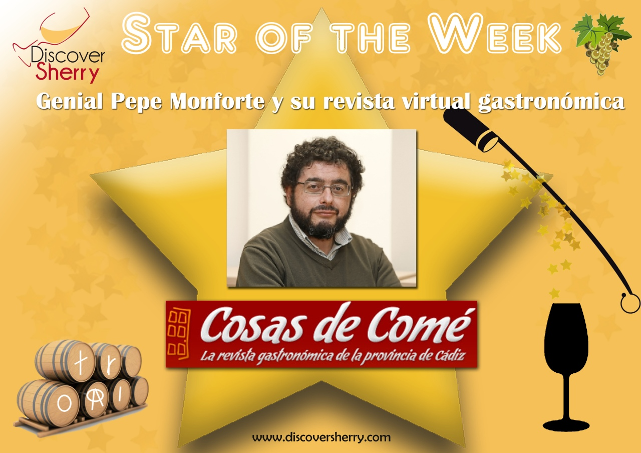 "STAR of the WEEK: Pepe Monforte y Cosas de Comé / and the ""Cosas de Comé"" website"