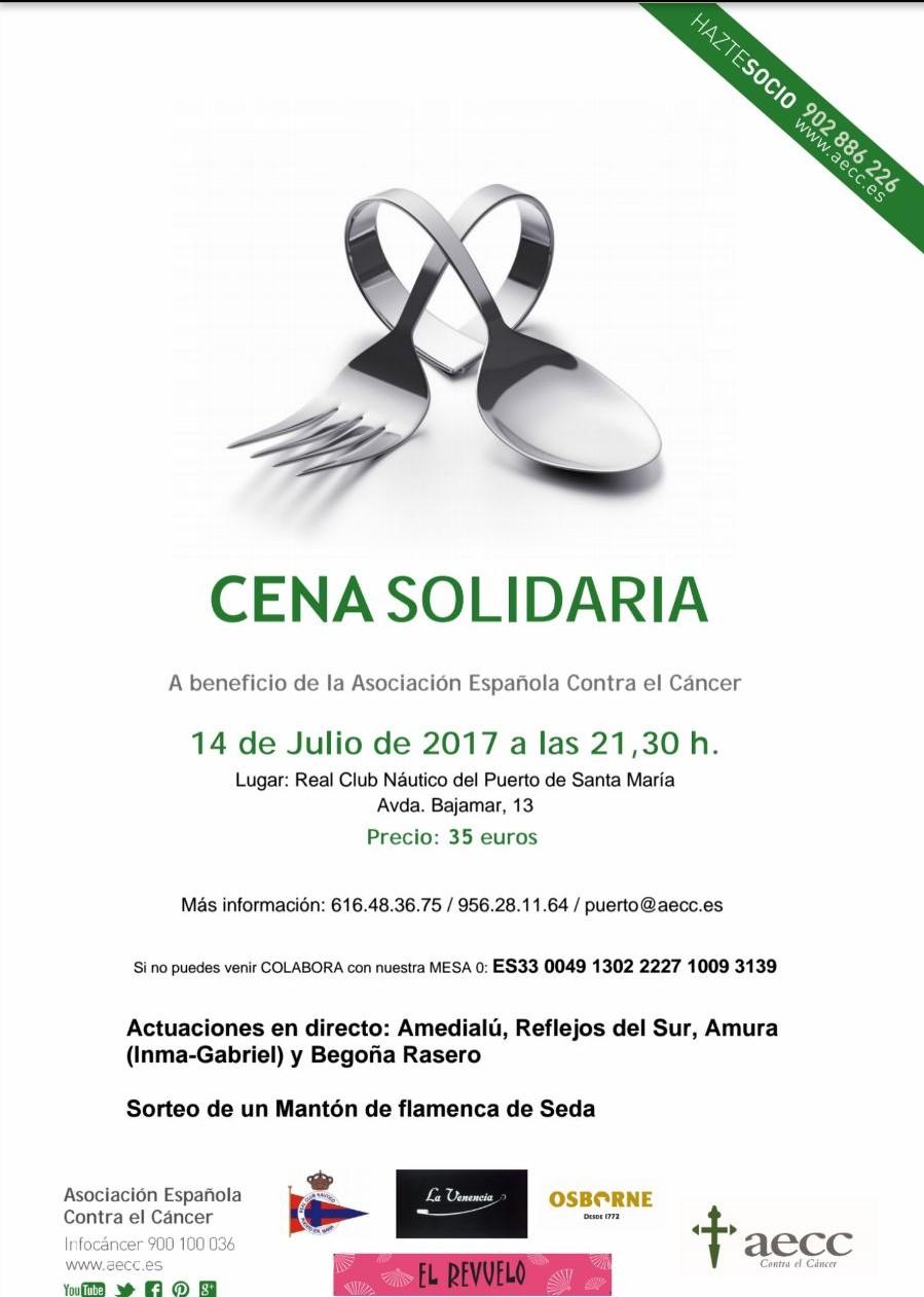 Cena Solidaria Asociación Española contra el Cáncer(Spanish)