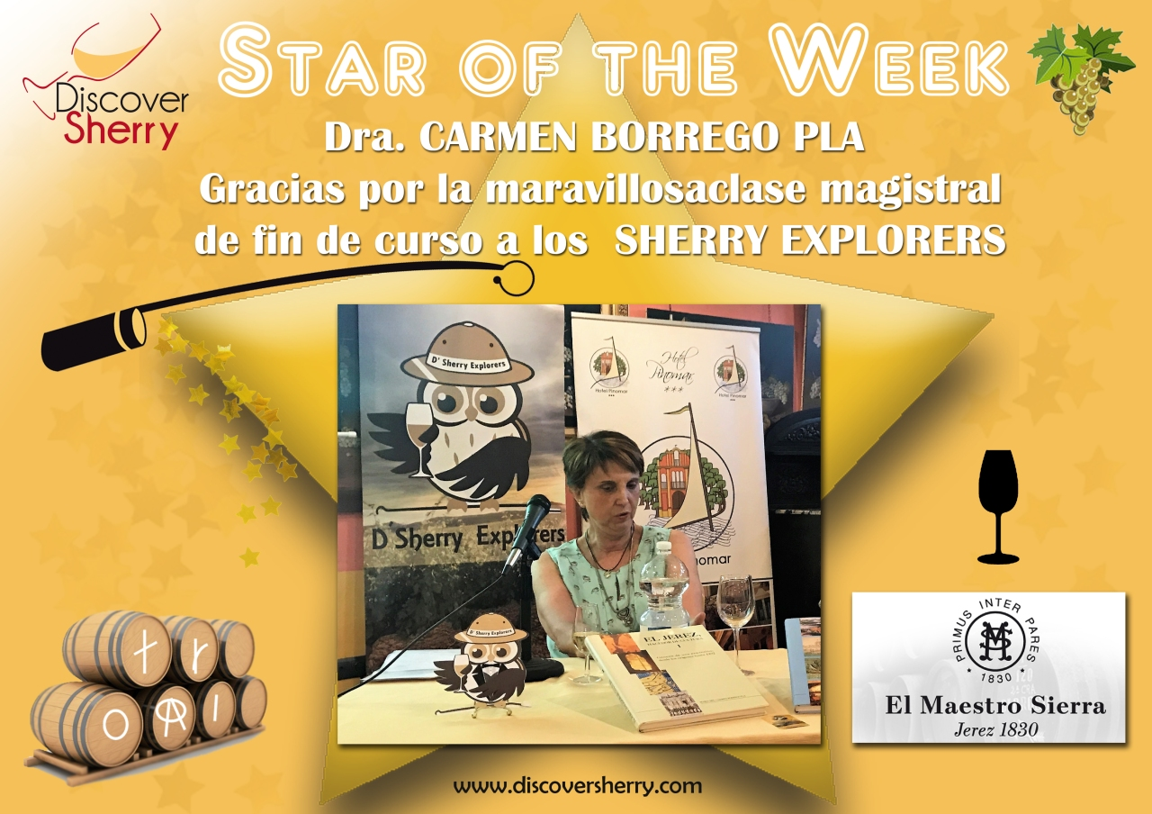 STAR of the WEEK: Dra. Carmen Borrego Pla