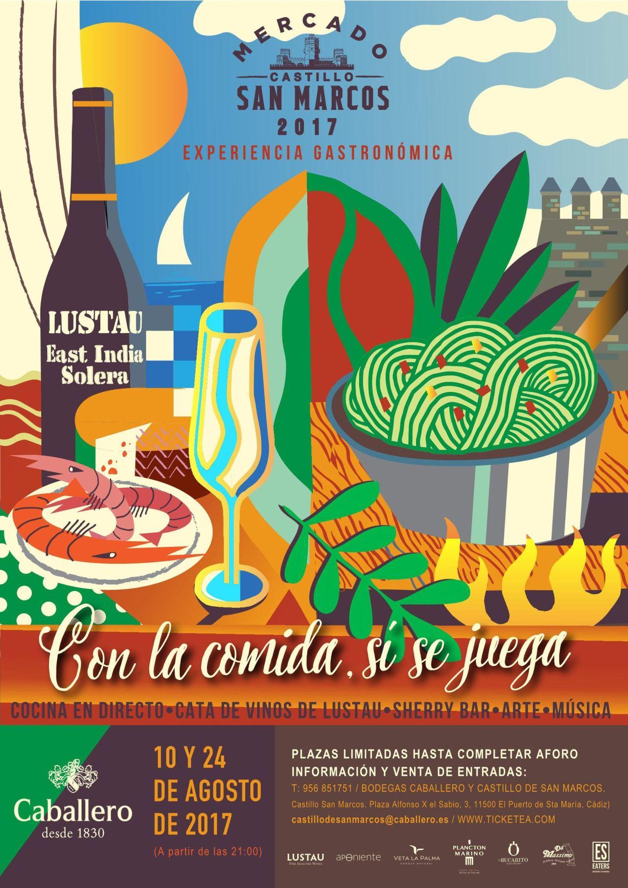 Discover Sherry recommends: XXVII Ciclo Cultural Caballero: Con la comida, sí se juega.(Spanish)