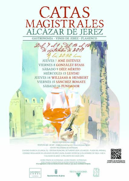 VENDIMIA de JEREZ: Catas Magistrales y muchas otras actividades(Spanish)
