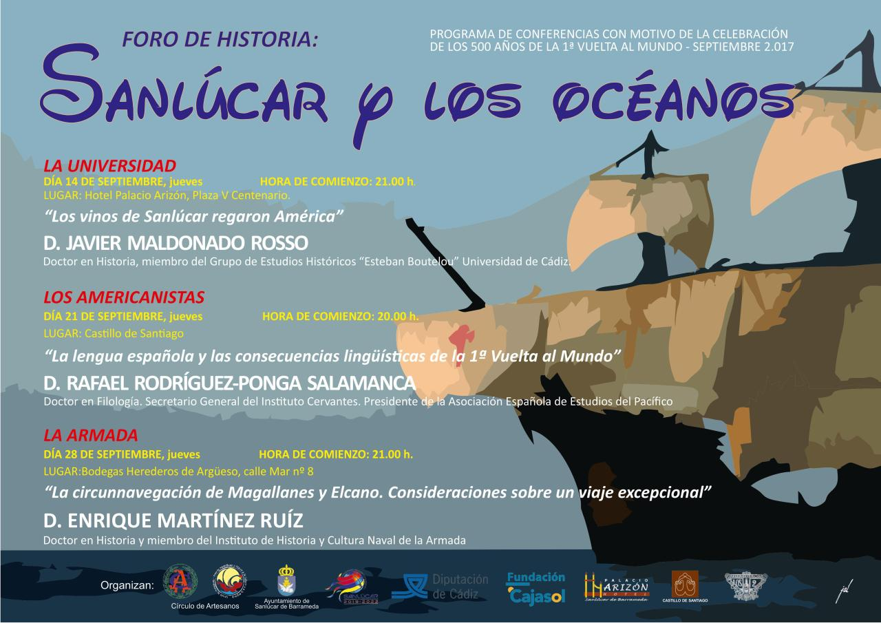 Discover Sherry recommends: Foro de Historia: Sanlúcar y losOceanos