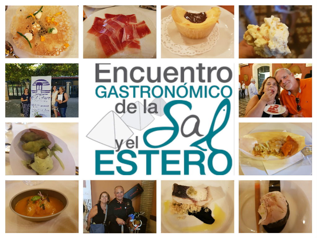 Gran éxito de las jornadas de la Sal y el Estero/The Salt and the Estuary Gastronomy fair meets with complete success.
