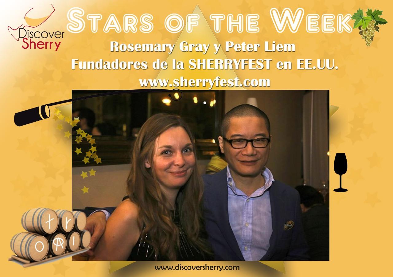 STARS of the WEEK: Rosemary Grey y PeterLiem.