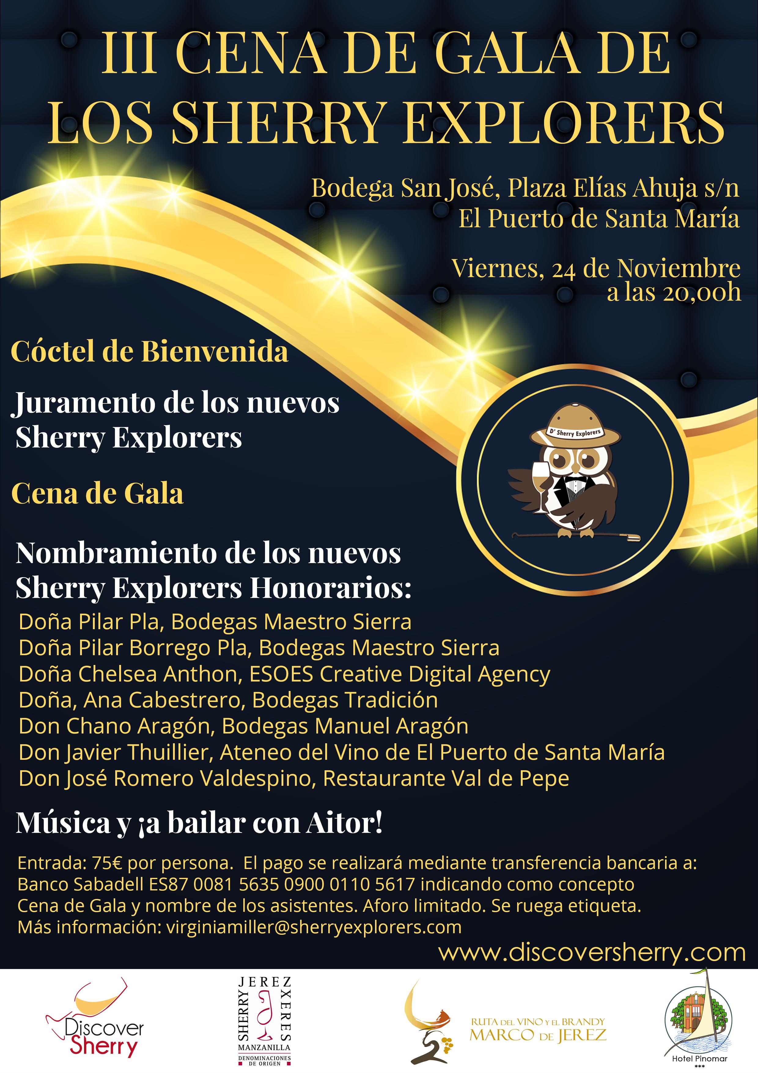 Invitacion Cena De Gala