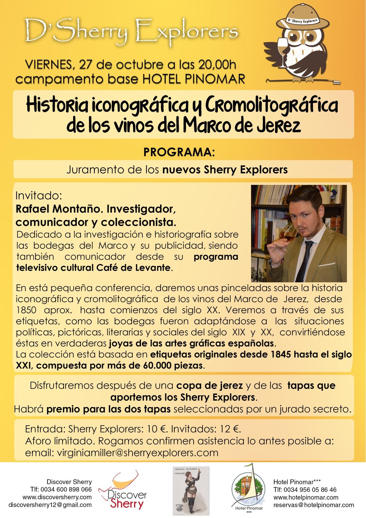 Reunión de octubre con el investigador, comunicador y coleccionista, Rafael Montaño(Spanish)