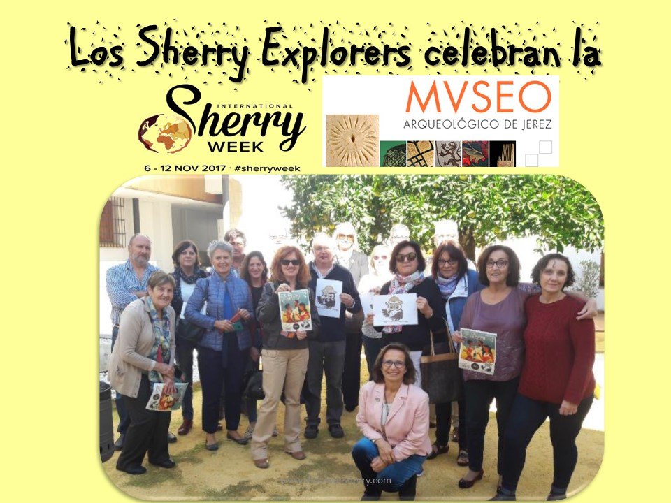 International Sherry Week: Visita al Museo Arqueológico de Jerez /Visit to the Jerez Archaeology Museum