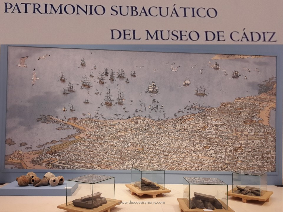 "Discover Sherry recommends: Exposición ""El Legado del Mar"" Museo de Cádiz/The ""Legacy of the Sea"" Exhibition at the Cadiz Museum"