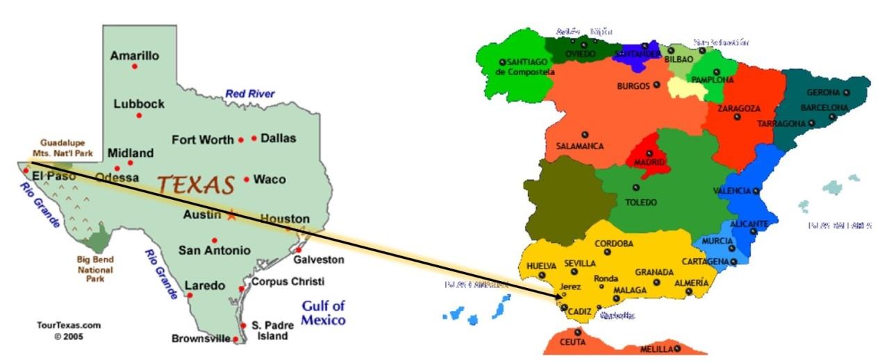 Amigos de la ciudad hermana de El Paso, Texas, nos visitan /We are visited by friends from our Sister City – El Paso,Texas