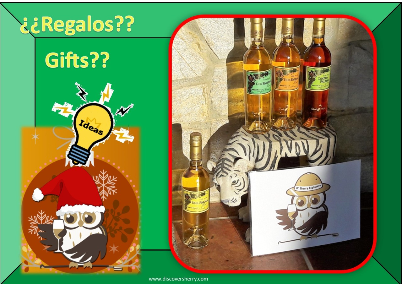Sherry ideas for gifts / Ideas Sherry para regalar