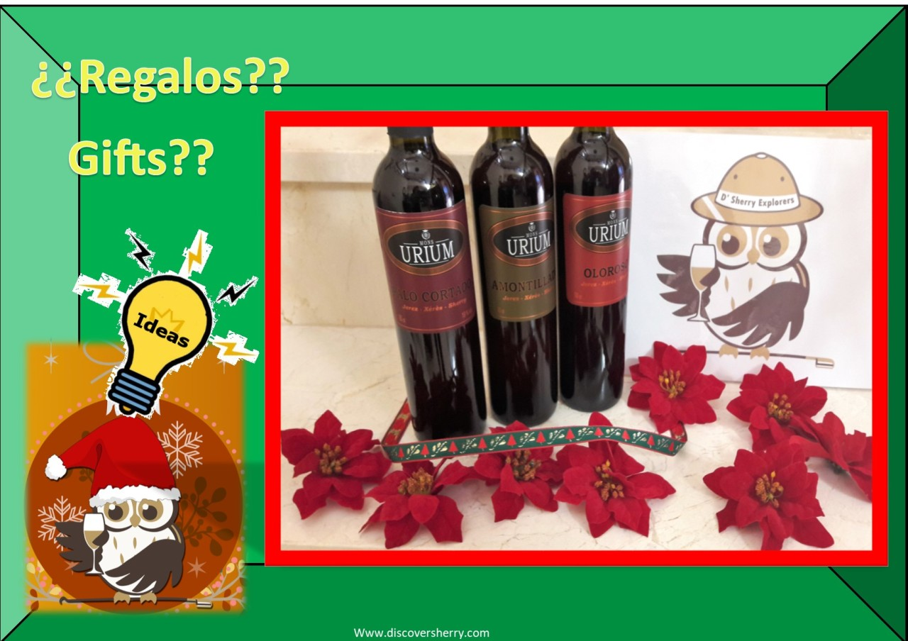 Sherry gift ideas for Christmas: Urium Sherry wines / Ideas para regalar jerez: Vinos de Urium
