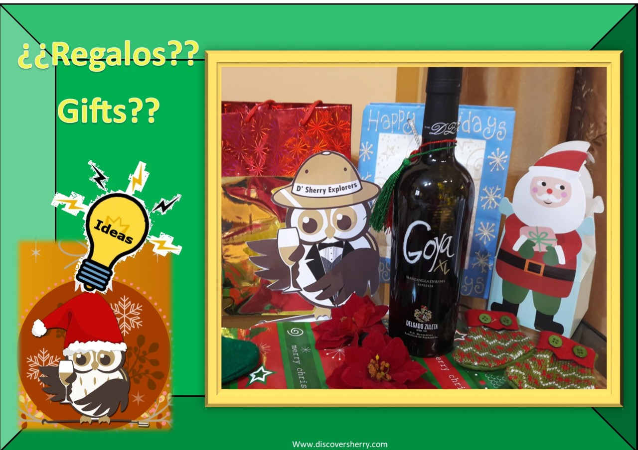 Ideas for Sherry gifts: La Goya XL / Ideas para regalar Sherry: La Goya XL