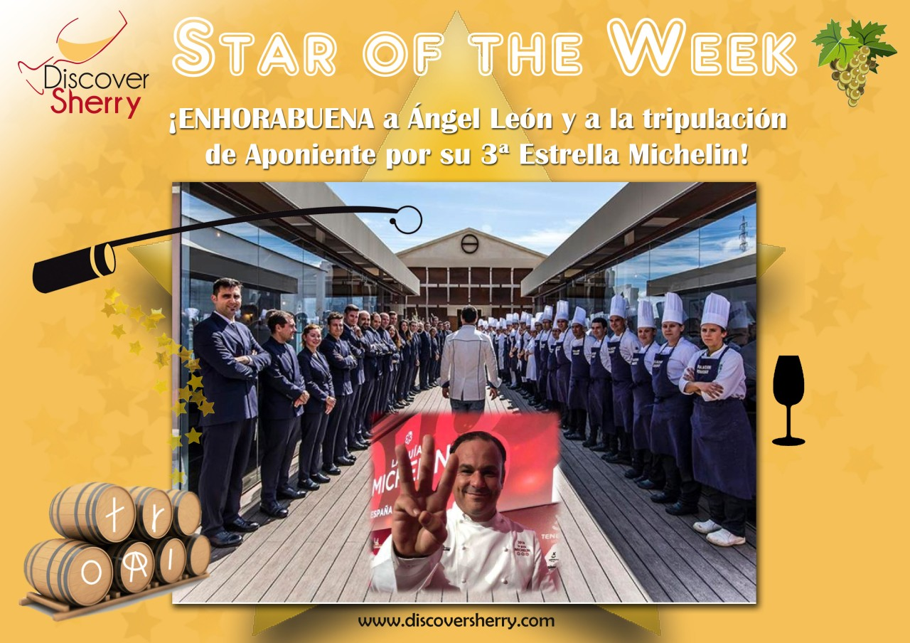 STARS of the WEEK: Restaurante Aponiente recibe la 3ª Estrella Michelin / Third Michelin Star for Aponiente Restaurant