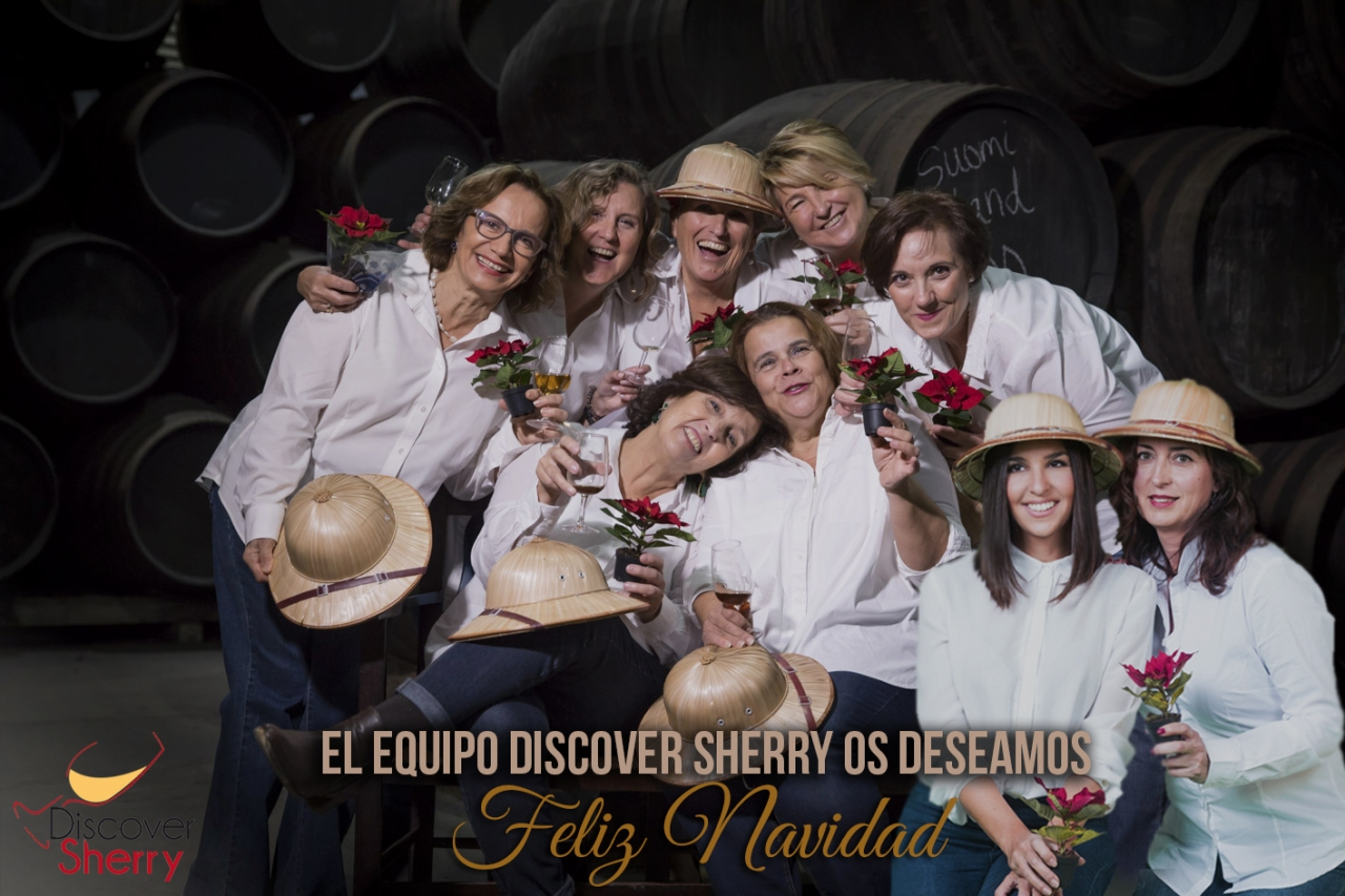 The Discover Sherry Team wish you… / El equipo Discover Sherry os deseamos …